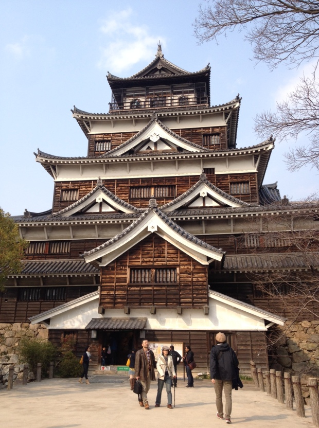 Hiroshima Castle Picture Taken by me