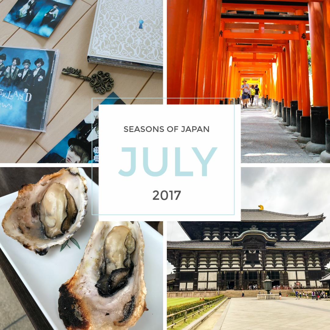 Seasons of Japan July